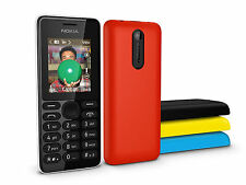 Nokia 108 Dual Sim FM Radio GSM Bluetooth English/Russian/Arabic keyboard phone