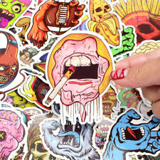 100pcs/lot Doodle Horror Sexy Stickers Collection Vinyl Decal PVC Laptop