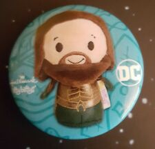 Aquaman Hallmark DC WB Popminded Itty Bittys Pin 2018 SDCC Exclusive
