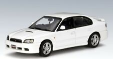 SUBARU LEGACY B4 1999 WHITE AUTOART 58612 1/43 BERLINE WEISS BLANC BIANCA
