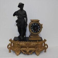 importante orologio  in bronzo dorato al mercurio. Napoleone III 1860 francese.