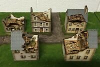 Ruined Set A 5 x 28mm European PREPAINTED BUILDING KITS