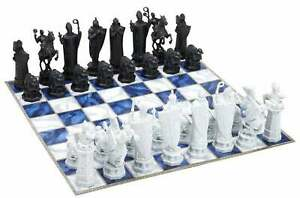 Harry Potter Wizard Chess Replacement Game Pieces - Queen King Rook Knight UPick