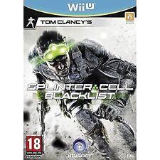 Nintendo Wii U Tom Clancys Splinter Cell Blacklist - St VideoGames