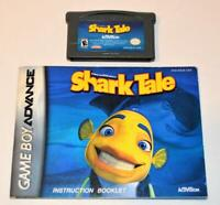 SHARK TALE NINTENDO GAMEBOY ADVANCE SP GBA GAME W/ MANUAL
