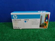 HP Q6001A Cyan Toner Cartridge New Sealed
