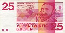 Netherlands Nederland 25 gulden 1971 / U109