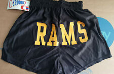 VCU RAMS Womens Yellow and Black Athletic Shorts Virginia Commonwealth Small S
