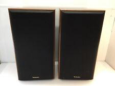 (Set of 2) Vintage Technics SB-CR33 2-Way Speaker System