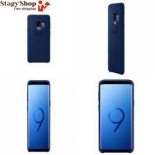 Official OEM Samsung Galaxy S9 Alcantara Cover Blue