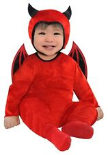 Cute As A Devil Boys Infant Red Demon Halloween Costume