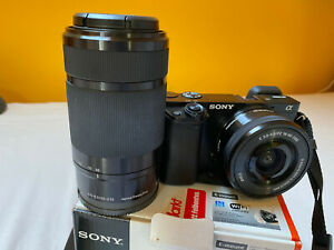 Sony a6000 with 16-50 and 55-210 lens, only 2137 shooting picture!!