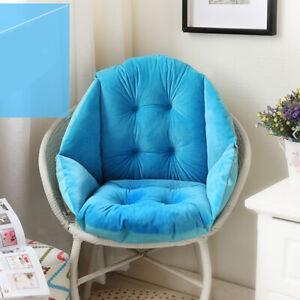 Seashell Shape Design Seat Cushion All-round Soft Patio Wicker Chair Pad Pillow