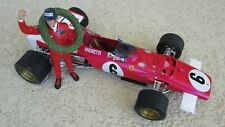 Exoto Ferrari 312 B race car Andretti figure first win S. African F1 1971 1:18