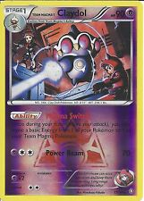 POKEMON CARD XY DOUBLE CRISIS - TEAM MAGMA'S CLAYDOL 11/34 REV HOLO