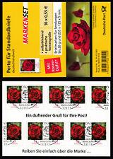 Bund Folienblatt 7 gestempelt 10 x 2675  Rose mit Duft!!! 2010  ESST Bonn