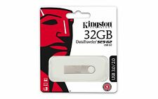 KINGSTON 32Gb DATA TRAVELER METAL Slim SE9 G2 USB.3 FLASHDRIVE dtse9g2 / 32GB
