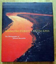 SIGNED ASSOCIATION COPY - EDWARD BURTYNSKY - MANUFACTURED LANDSCAPES - FINE COPY