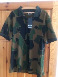 Fred Perry X Arktis T Shirt Polo Camouflage XL