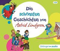 ASTRID LINDGREN - DIE SCHÖNSTEN GESCHICHTEN VON ASTRID LINDGREN   3 CD NEU