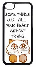 New For Apple iPod 4 5 6 Cute Cat Kitten Paws Quote Saying Skin Back Case Cover