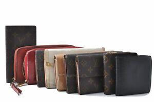 Authentic Louis Vuitton Monogram Vernis Epi Empreinte Wallet Brown 10Set D4786