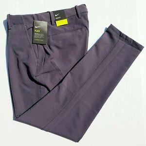 Nike Vapor Flex Slim Fit Men's 40x32 Dark Gray Golf Pants BV0273-015