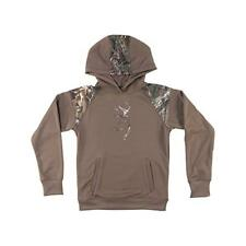 Browning Buckmark Gauge Hoodie YOUTH SMALL Realtree Camo Deep Taupe NEW