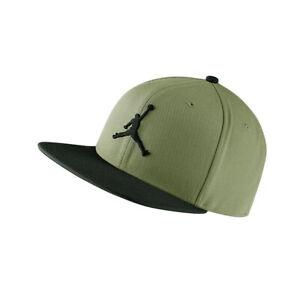 NIKE Cap Jordan Pro Jumpman oliv Snapback Baseball Capi Schirmmütze Kappe NEU