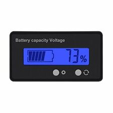 Dc 6-63V Digital Battery Capacity Tester, Voltage Capacity Percent Meter Battery