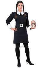 HALLOWEEN FANCY DRESS ~ ADDAMS FAMILY WEDNESDAY LG 12-14