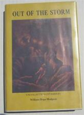 OUT OF THE STORM WILLIAM HOPE HODGSON 1975 DONALD M GRANT FIRST DJ SAM MOSKOWITZ