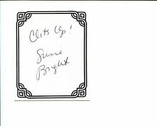 Susie Bright In the Bed Erotic Author Signed Autograph Bookplate