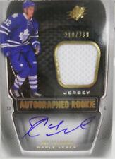 2011-12 SPX Joe Colborne SP Dual Rookie Autograph Jersey # 210 / 799