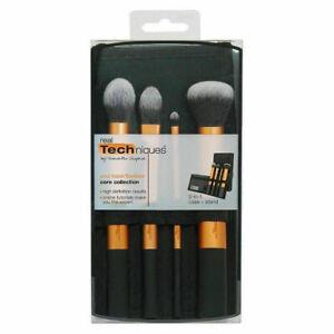 4 Pcs Make Up Brushes Set Cosmetic Professional Blusher Face Powder Foundation