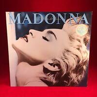 MADONNA True Blue 1986 VINYL LP + INNER  EXCELLENT CONDITION original #