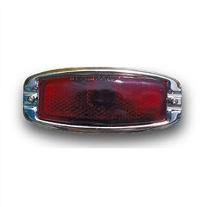 TAIL LIGHT ASSEMBLY CHEVROLET CARS 1941 1947 1948 1 PAIR  WITH GLASS LENS