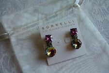 Sorrelli Swarovski Crystal Dangle Drop Earrings