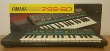 Boxed Yamaha PortaSound PSS-50 Electronic Keyboard Synth1/4Jack Out Beginner
