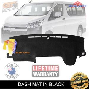 DASH MAT for Toyota Hiace VAN GDH300R LWB Sports May/2019-2020 in BLACK DM1570
