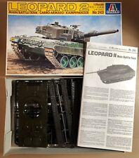 ITALERI 243 - LEOPARD 2 MAIN BATTLE TANK - 1/35 PLASTIC KIT NUOVO