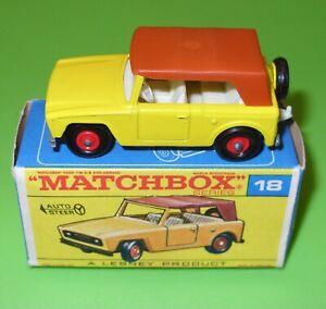 Matchbox / 18 Field Car / Boxed