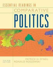 Essential Readings In Comparative Politics by Patrick H O'Neil