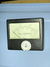 Vintage Weston 1931 Panel Meter Gauge Milliamperes 0 300 0 100 196153 Used