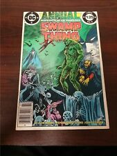 1985 DC COMICS SWAMP THING ANNUAL #2 VG/FN JUSTICE LEAGUE PARK KEY FLAT RATE S/H