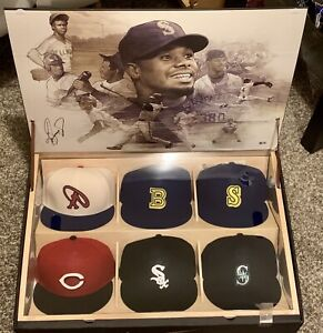 Ken Griffey Jr Nike Limited Edition 6 Hat Collection Signed Autograph