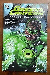 GREEN LANTERN DC Comics Wanted: Hal Jordan Graphic Novel TPB