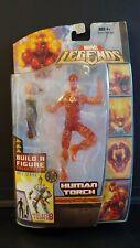 🔥Marvel Legends Fantastic Four HUMAN TORCH Action Figure Ares BAF Series Hasbro
