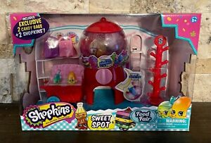 Shopkins - Food Fair - Sweet Spot - 2 Exclusive Shopkins - NEW