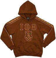 ProSphere Men/'s Phi Beta Sigma Geometric Pullover Hoodie